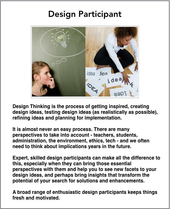 design participant