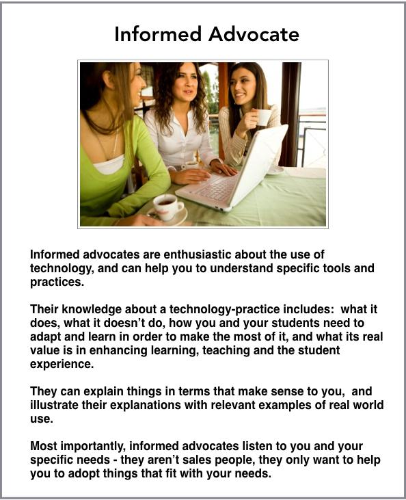 informed advocate